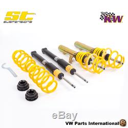 VW Golf MK5 GTI 2.0T with DSG KW ST X Coilovers Performance Suspension Kit TUV