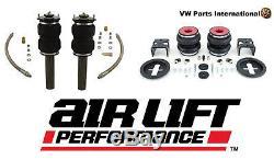VW Golf MK5 R32 GTI TDI Air Lift Front & Rear Air Ride Suspension Kit Slam 6