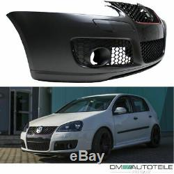 VW Golf MK5 V SPORT Front Bumber +Grille +fog lights GTI + COMPLET KIT 03-08+TÜV