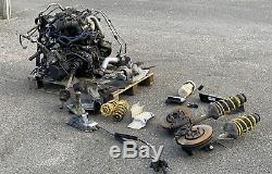 VW Golf Mk4 Gti 20v Was 1.8 Turbo Engine Conversion Kit Gearbox Hubs