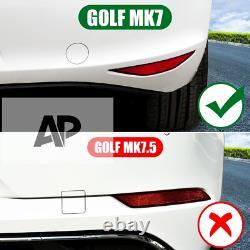 VW Golf R GTD GTI MK7 Gloss Black Rear Tail Light Splitter Canards Body Kit