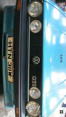 VW Mk1 Golf Convertible Cab Clipper Gli Gti Breaking Kamei Kit