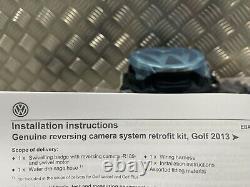 Volkswagen Golf R GTI GTD Mk7 7.5 Genuine Rear View Camera Retrofit Kit