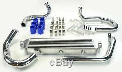 Vw Golf Mk4 Gti Jetta Bora Audi A3 A4 A6 1.8t 20v Turbo Intercooler Kit Blue