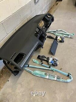 Vw Golf Mk7.5 Mk7 Gtd Gti R Airbags Kit Knee Bag Dash Seatbelt Roof Dash Airbag+
