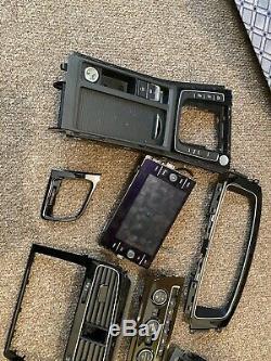 Vw Golf Mk7 Gti Gtd R Rhd Dash Dashboard Interior Black Sat Screen Trim Set Kit