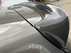 Vw golf r gti mk5 carbon fiber Spoiler wing- bar kit skirt bumper led splitter