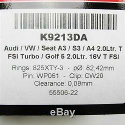 Wössner Schmiedekolben VW Audi 2,0l 16V FSI TFSI Turbo Kolben Kit (4x) 2.0 GTI