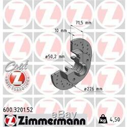 ZIMMERMANN SPORT Bremsscheiben + Beläge VW Golf 3 Passat Vento Hinten
