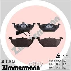 Zimmermann Bremsen Bremsscheiben Bremsbeläge Vorne Hinten Seat Leon 1m1