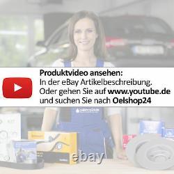 Zimmermann Sport Bremsen Kit Bremsscheiben + Bremsbeläge Ø312 Vorne Audi Tt 8n