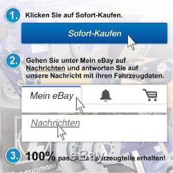 Zimmermann Sport Bremsen Komplett Bremsscheiben Beläge Vw Golf 6 2.0 Gti Vorne