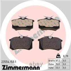 Zimmermann Sportscheiben + Beläge VW Golf 3 Passat Vento 2.0 GTI 2.8VR6 Hinten